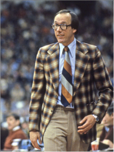 Can you imagine a time when this was cool? Or that a man who would wear your grandmother's couch upholstery as a sport coat could win 900 games?