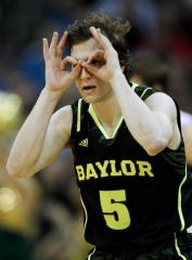 Brady Heslip has a weird concept of corrective lenses, people. That said, he's probably going to drive you batty this season.