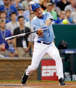 You should never bet against one of the best coaches out there, especially when he spends his off season crushing HRs in celebrity softball.