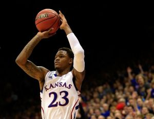 There was a time on Monday where we thought this might be the last time we ever saw this saint in Jayhawk uniform.