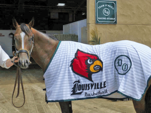 It's pretty typical that Louisville's star player would be a thoroughbred.